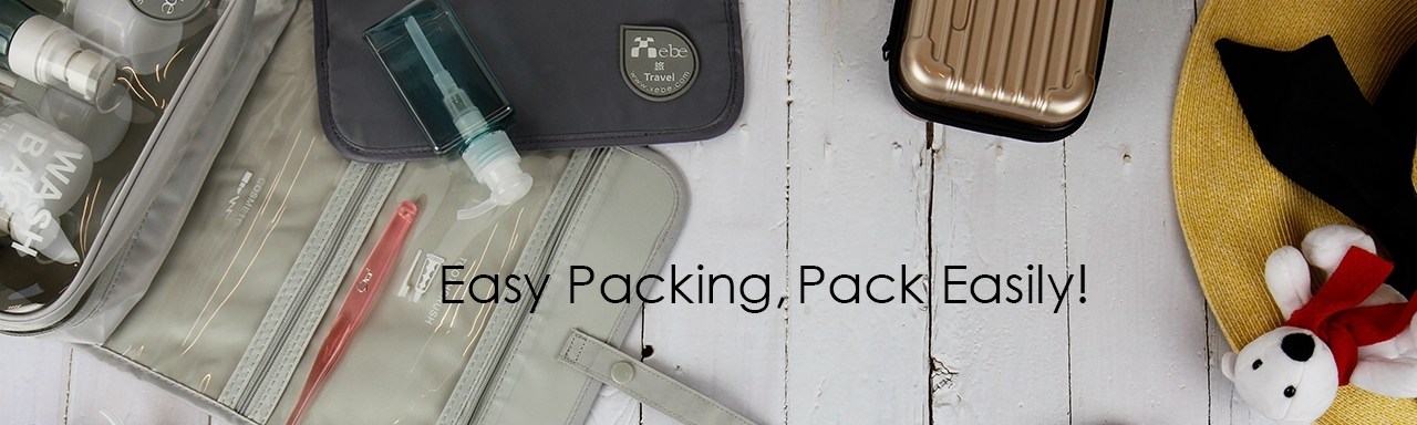 Eco packing organizers