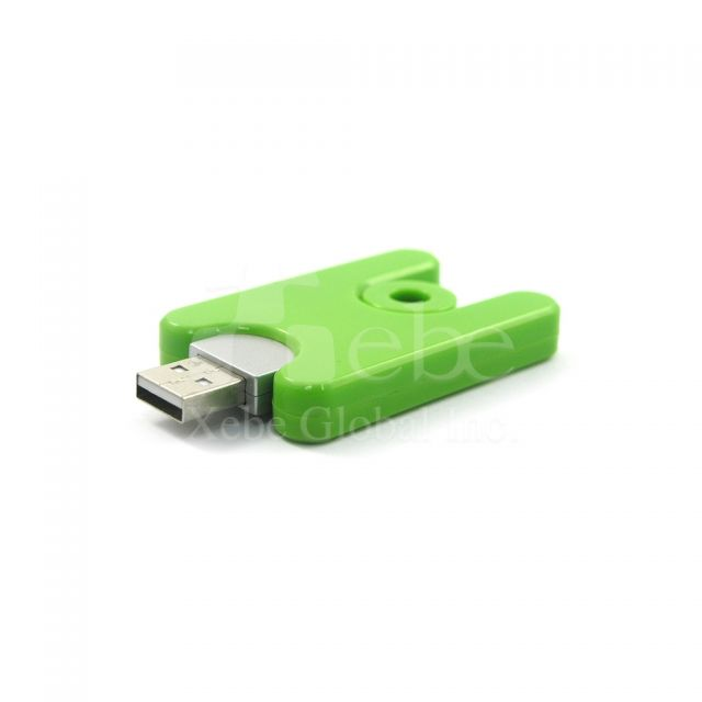 Green Slide USB disks