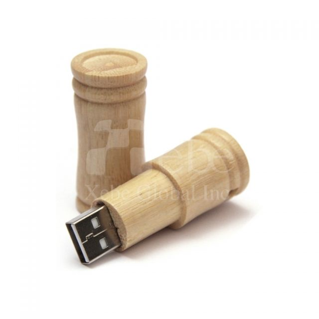 Oral Wooden USB memory stick