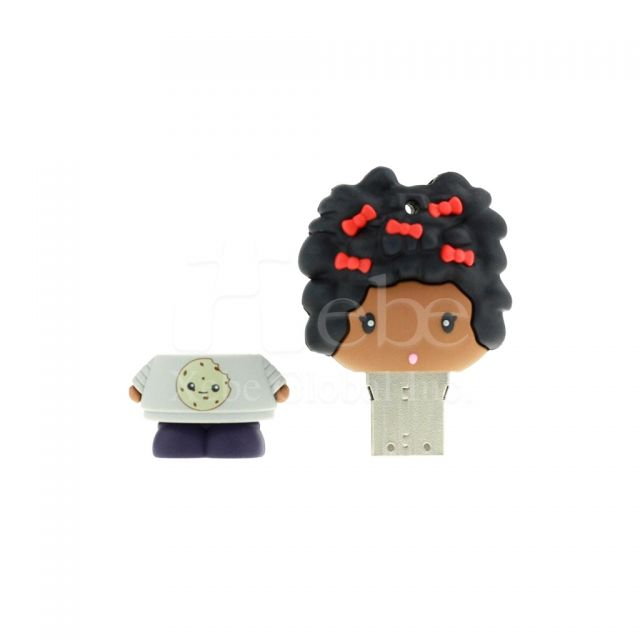 Customized giftsgirl USB