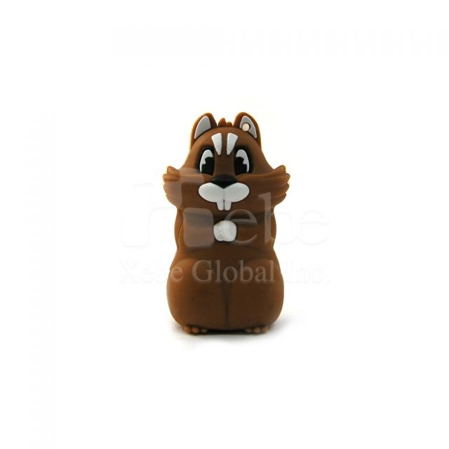 Chipmunk USB flash memory