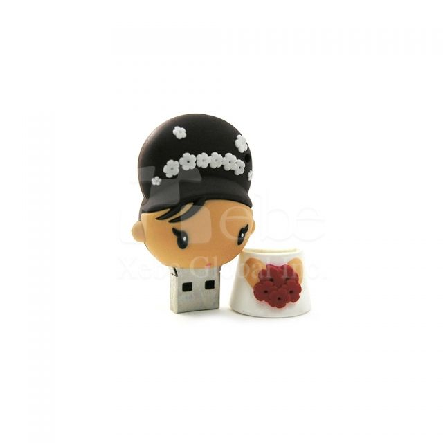 Wedding gifts bride flash drive
