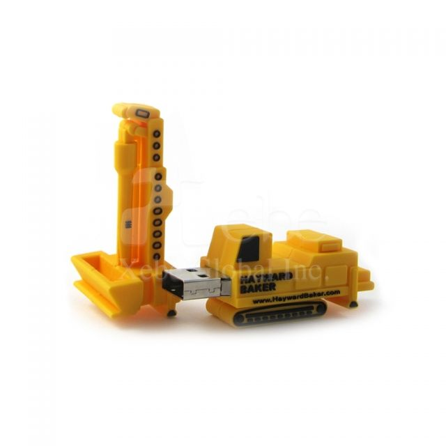 Personalized flash drives crane USB drives