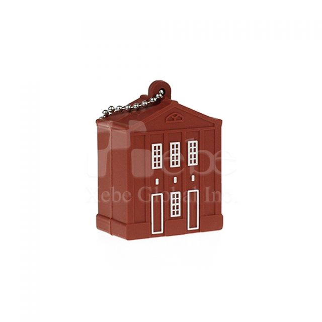 Red house usb drive unusual gifts