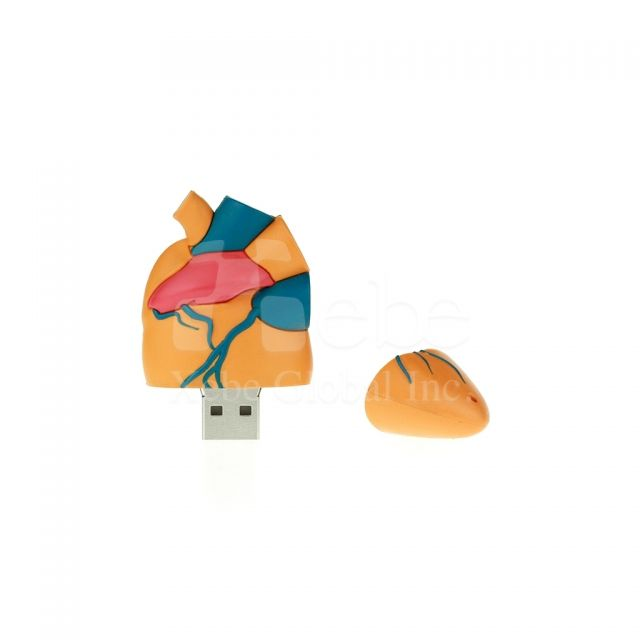 Heart pendrive Gift ideas