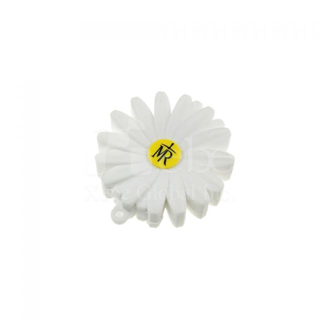 Customized flash drive Daisy Soft plastic molding