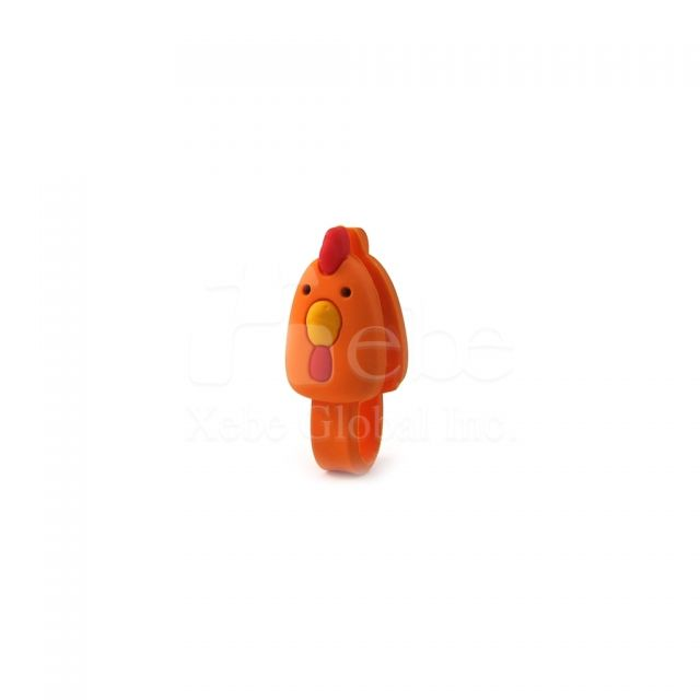 Rooster earphone winder