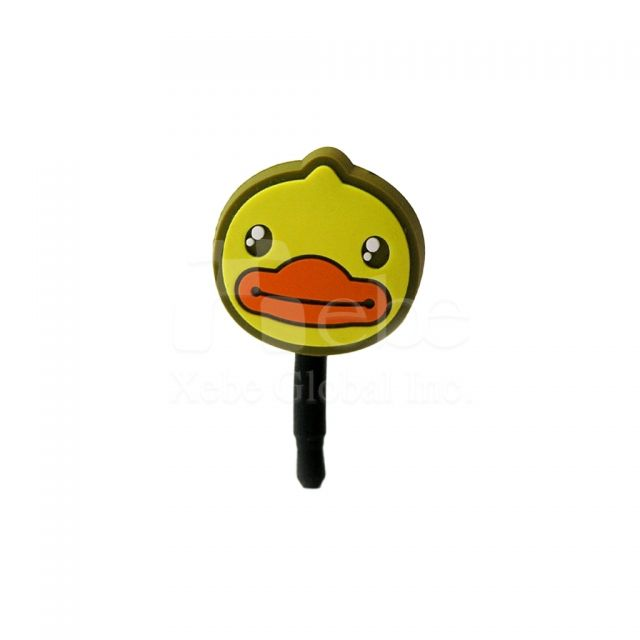 Duck cell phone plug
