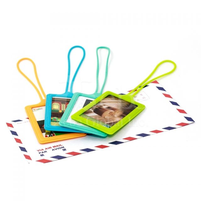 Colorful ID card holder