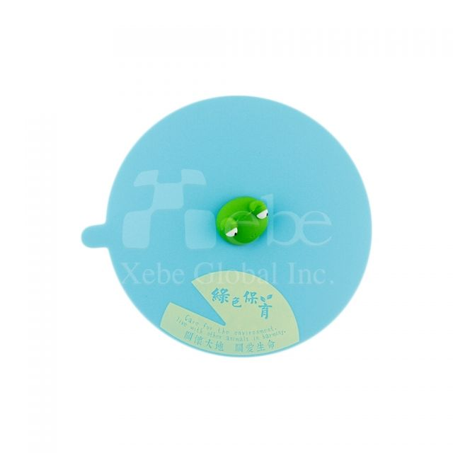 Customized silicone cup lid business gift ideas