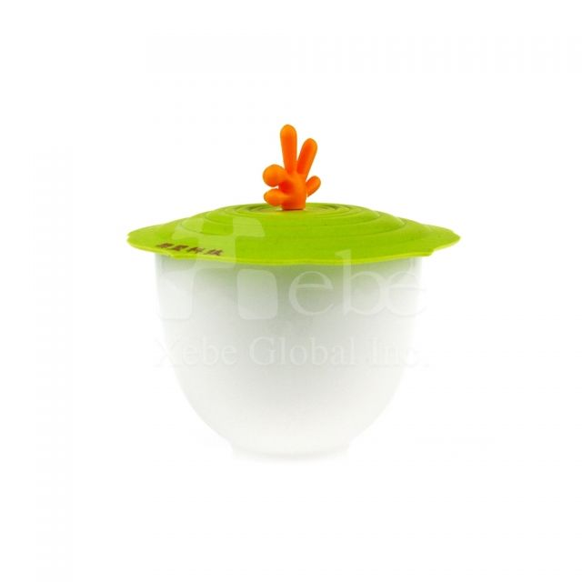 Silicone cup lidFunny gifts