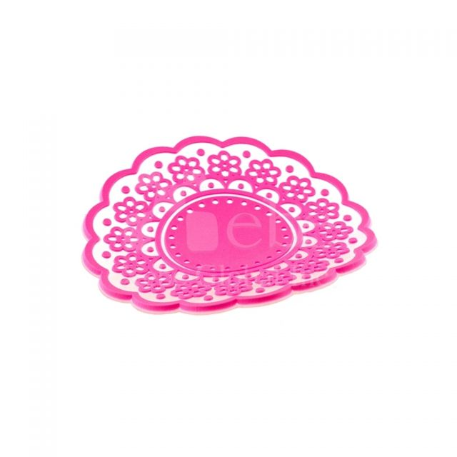 Lace design PVC coastersRomantic gifts