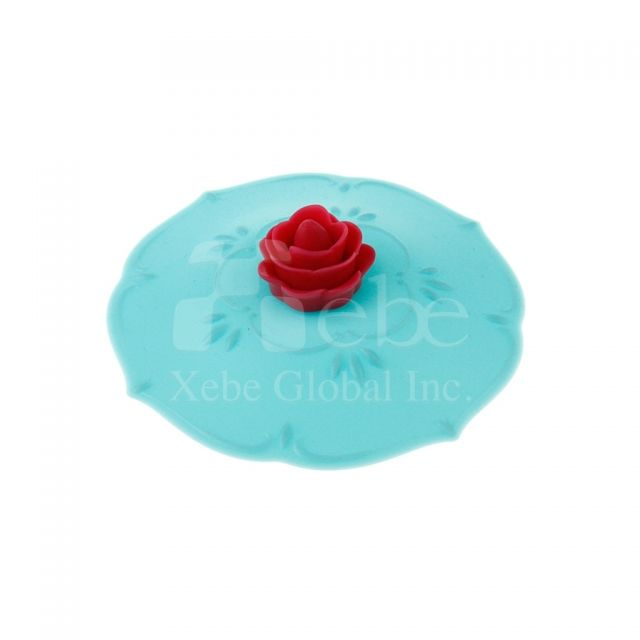Rose silicone cup lidWedding gifts