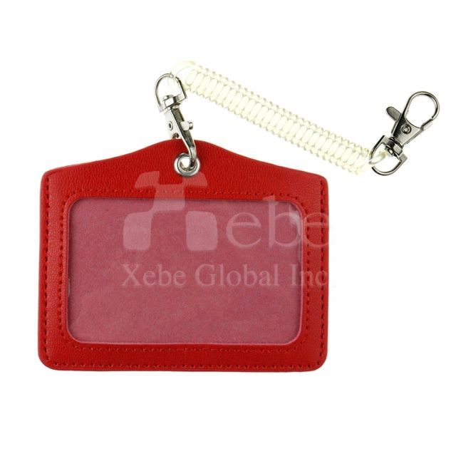 Leather card holder corporate souvenirs