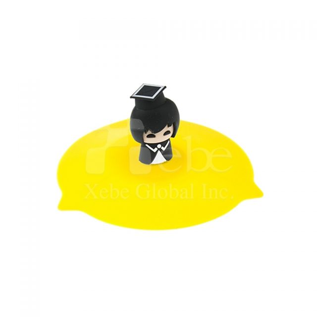 Graduate style silicone cup covergraduation gifts