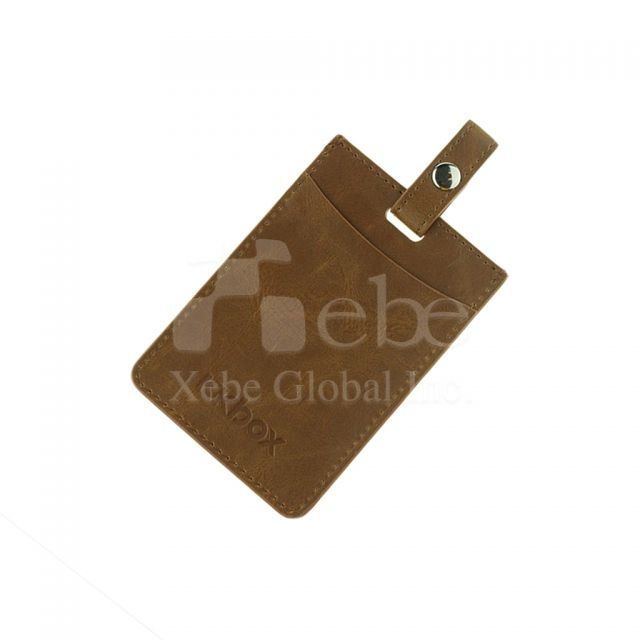 Chagreen custom Card holder promotional gifts