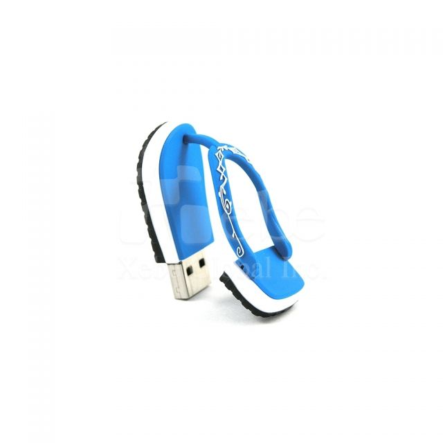Flip-flops USB memory sticks