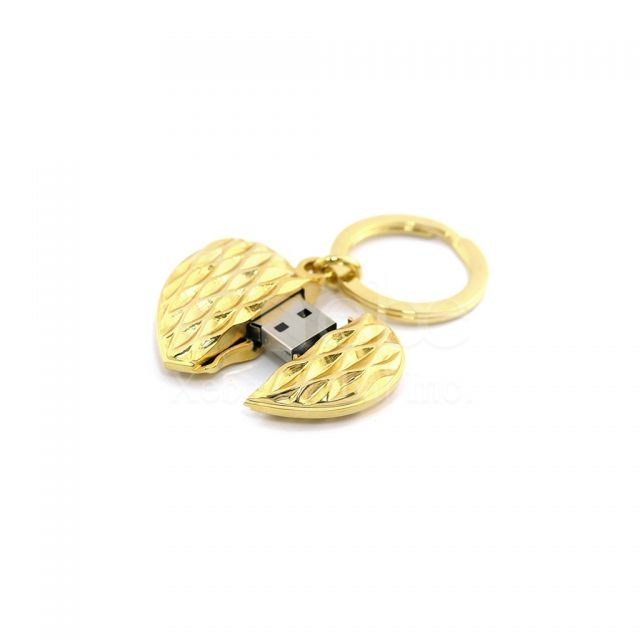 Heart USB memory sticks