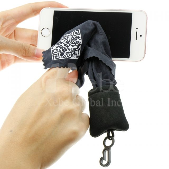 Cell phone wipes strap personalized products