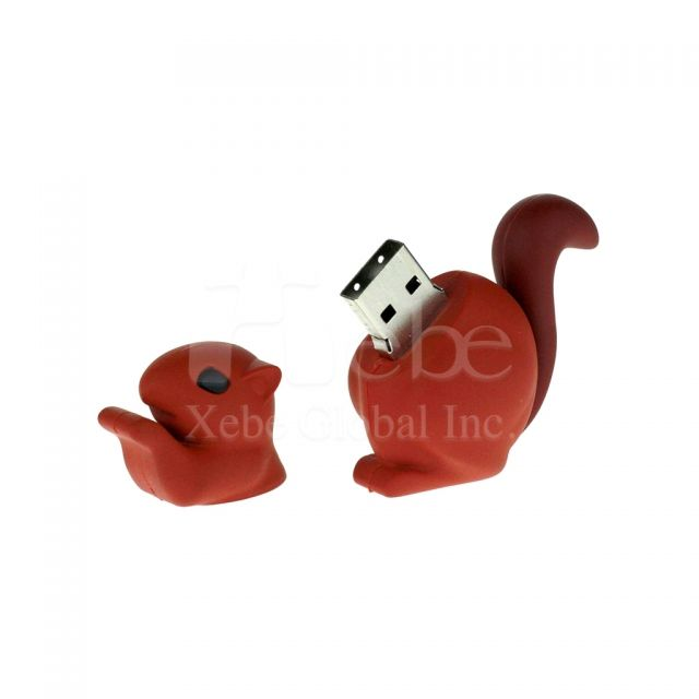 Squirrel 3D customized USB Creative gifts idea