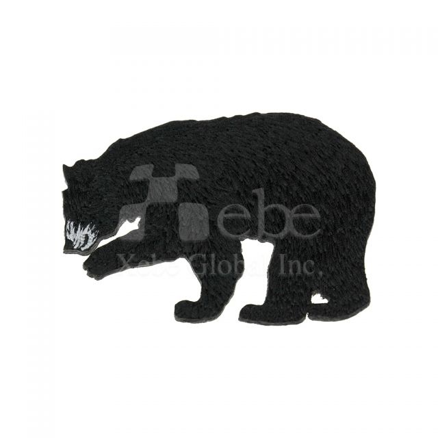 Black bear custom coasters souvenir