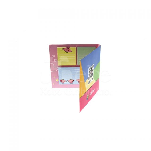 Corporate custom sticky notes school commodity