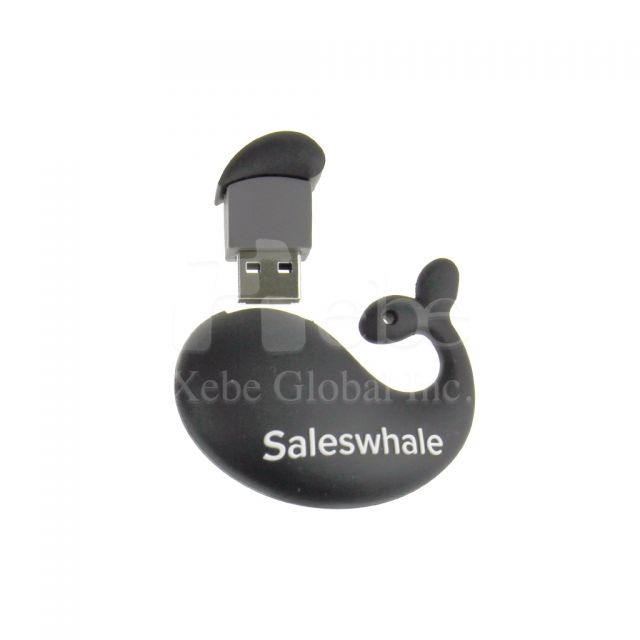 Whale 3D Customized USB company gifts