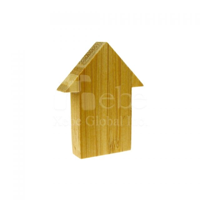 House wooden usb wedding gift ideas